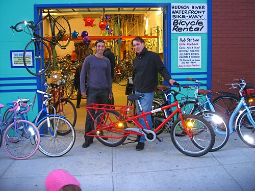 Bikes By George Nyc George Bliss picks up the