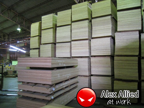 Plywood stacks