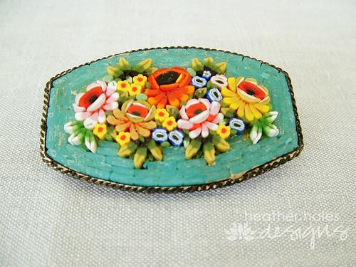 Micro-Mosaic Brooch