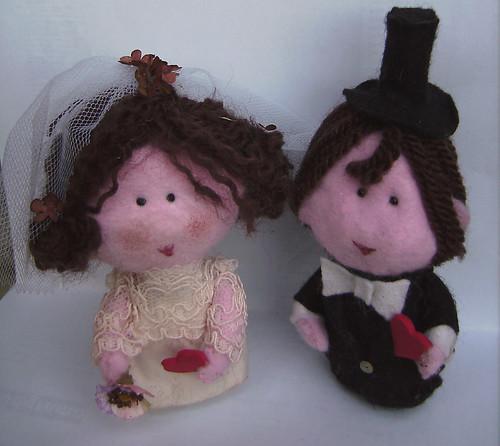 Weddings - custom bride and groom