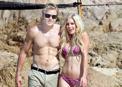 Heidi Montag with Spencer Pratt