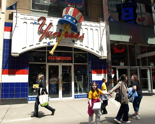 Yankees Merchandise Store on 42nd Street bc2f23895f6