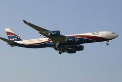 Heathrow A340-500 CS-TFW (ThreeForty) Tags: heathrow airbus lhr a340 londonheathrow egll hifly a340500 arikair 09l cstfw londresheathrow arikwingsofnigeria
