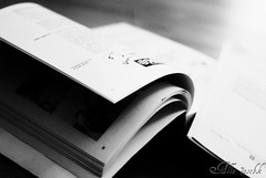 ~ University Exams .. (-7se) Tags: bw white black book nikon university exam finance d80
