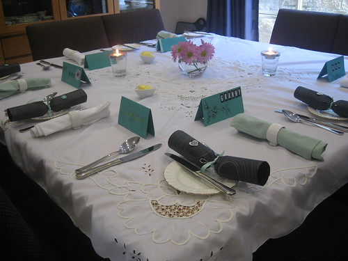 Table set for Mothers Day