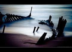 Stay Wild (Matthew Stewart | Photographer) Tags: ocean sea sun seascape water sunrise boat sand matthew stewart qld queensland wreck ssdicky dickybeach