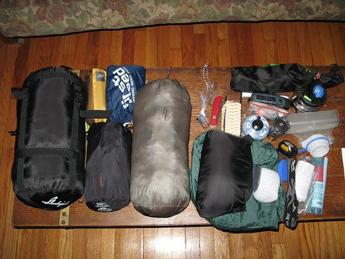 camping gear backpacking