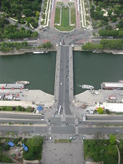 View of Pont D'iena from tower (avilasal) Tags: paris 365 twitter365