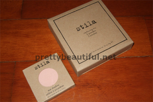 stila contouring kit, eyeshadow