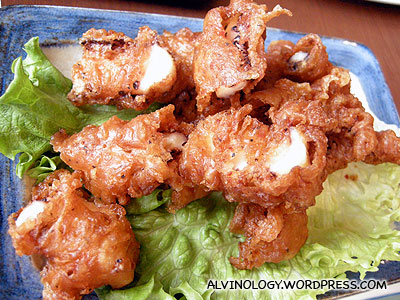 Fried sotong