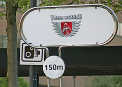 (mike1727) Tags: camera uk england bike sign race speed miltonkeynes racing cycle img5651 thetourseries