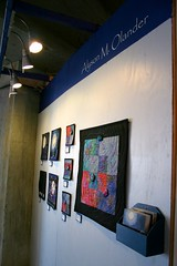 My Artomatic Wall, from the side