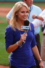 NESN's Heidi Watney (sdowen) Tags: usa boston canon ma us redsox fenway fenwaypark bostonredsox lightroom nesn 40d heidiwatney