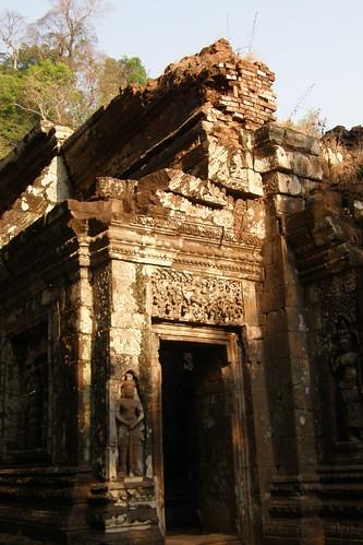 032.Wat Phu Champasak主殿一隅