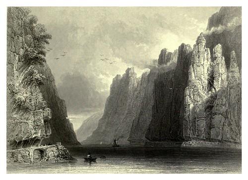 035-El paso de Kazan con la ruta romana-Rumania 1844