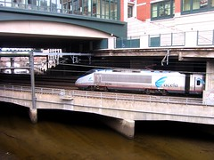 afternoon Acela Express, Providence (katherine of chicago) Tags: providence rhodeisland amtrak acela shoppingmalls acelaexpress highspeedtrains providenceplacemall