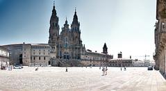 Obradoiro (Darkmelion) Tags: plaza santiago españa coruña catedral galicia d90 espaa catedralsantiago corua obradorio