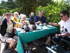 Tea at Litlington Tea Gardens