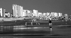 The Grand Strand (bdaryle) Tags: blackandwhite bw beach water myrtlebeach sand sony southcarolina blackwhitephotos bwartaward brandondaryle bdaryle imagesbybrandon