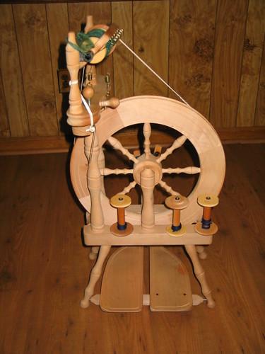My first wheel