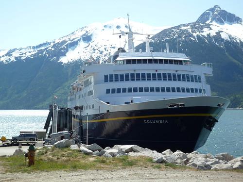 Skagway to Juneau - MV Columbia   West Coast Ferries Forum
