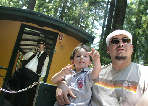 Father's Day (Photo by Joanne Hoyoung Lee/SJ Mercury News)