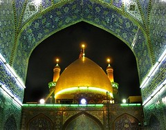 Abu Al-Fazel Al-Abbas shrine        (McAbbas ) Tags: shrine iraq abbas karbala 2009 alabbas karabala