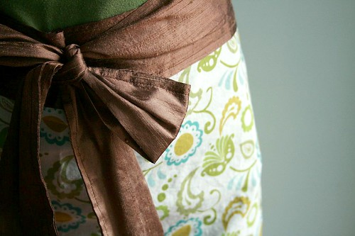 silk makes it fancy.