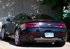 Aston Martin V8 Vantage (Austin H.) Tags: black colorado fortcollins british astonmartin exoticcar amv8 v8vantage