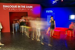 Dialogue in the Dark - Seoul Arts Center, Korea (Dialogue-Social-Enterprise) Tags: dark blind korea exhibit communication workshop seoul teamwork socialenterprise interpersonal visuallyimpaired communicationskills
