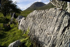 hieroglyphics (Kalense Kid) Tags: mountains tree skye landscape scotland rocks sundown layers linear moorland gouges torrin gashes creammemeetup blastedheath skyescreamies landscape34