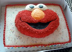 Brody's Elmo Birthday Cake