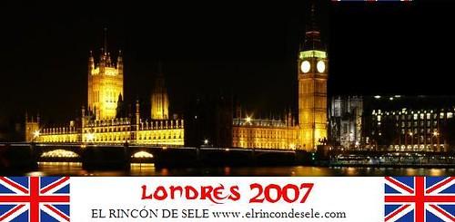 Londres 2007 por ti.