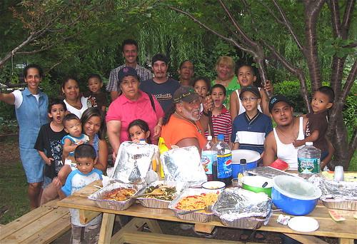 Potluck dinner in Brook Park