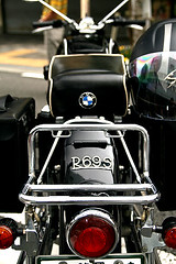 Old BMW Bike Cute Hip