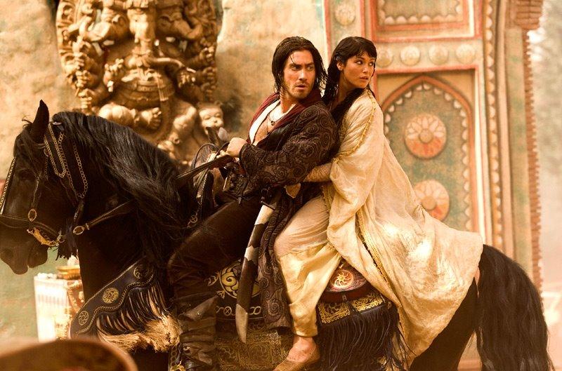 jake jgyllenhaal as prince dastan of walt disney prince of persia movie