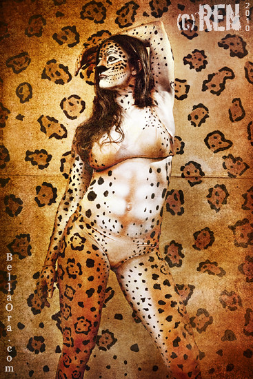 Jaguar Body Paint