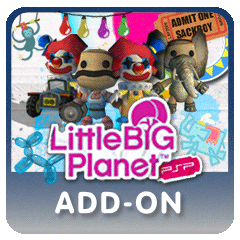LittleBigPlanet PSP -  Circus Costume Pack