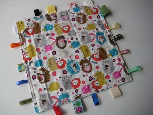 Tag blankie for Iain by Poppyprint