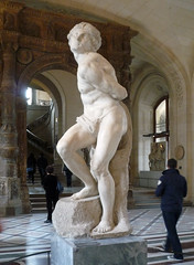 Michelangelo, Rebellious Slave with walker