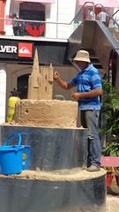 High Street Phoenix Mall - Sand Sculptor (Rckr88) Tags: india mumbai bombay city urban urbanlandscape mall sand sandsculptor asia