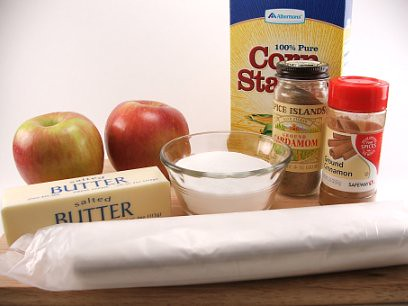 Apple Roll Fixins