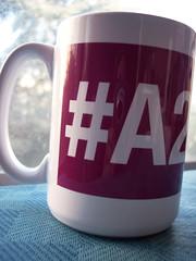 51/365 - HEX Color Coffee Mug #A24E7E
