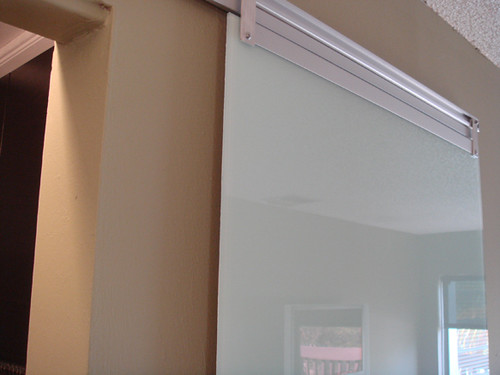 Sliding Closet Glass Door Diy Blue Ant Studio