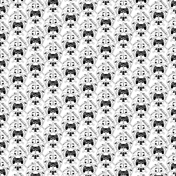 padtern white