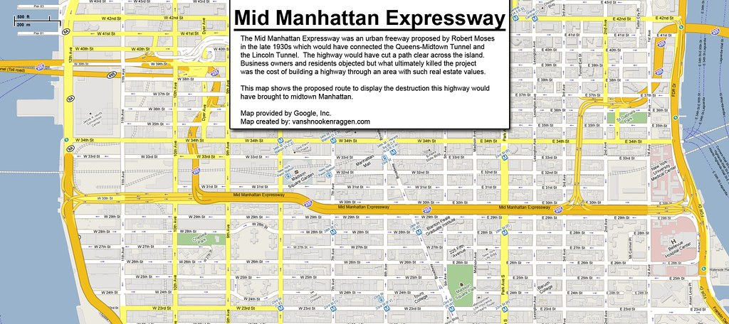Mid Manhattan Expressway
