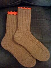 February socks...