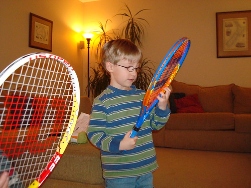 Sam's New Tennis Racket