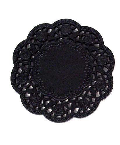 black cakelace rubber coasters plasticland