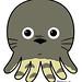 Poulpe Totoro